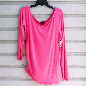 ✨Halogen Hot Pink Long Sleeve Blouse✨